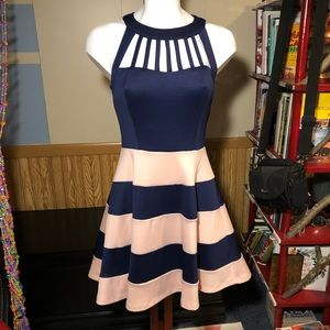 Trixxi striped dress